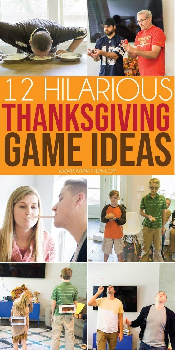 Thanksgiving Family Games