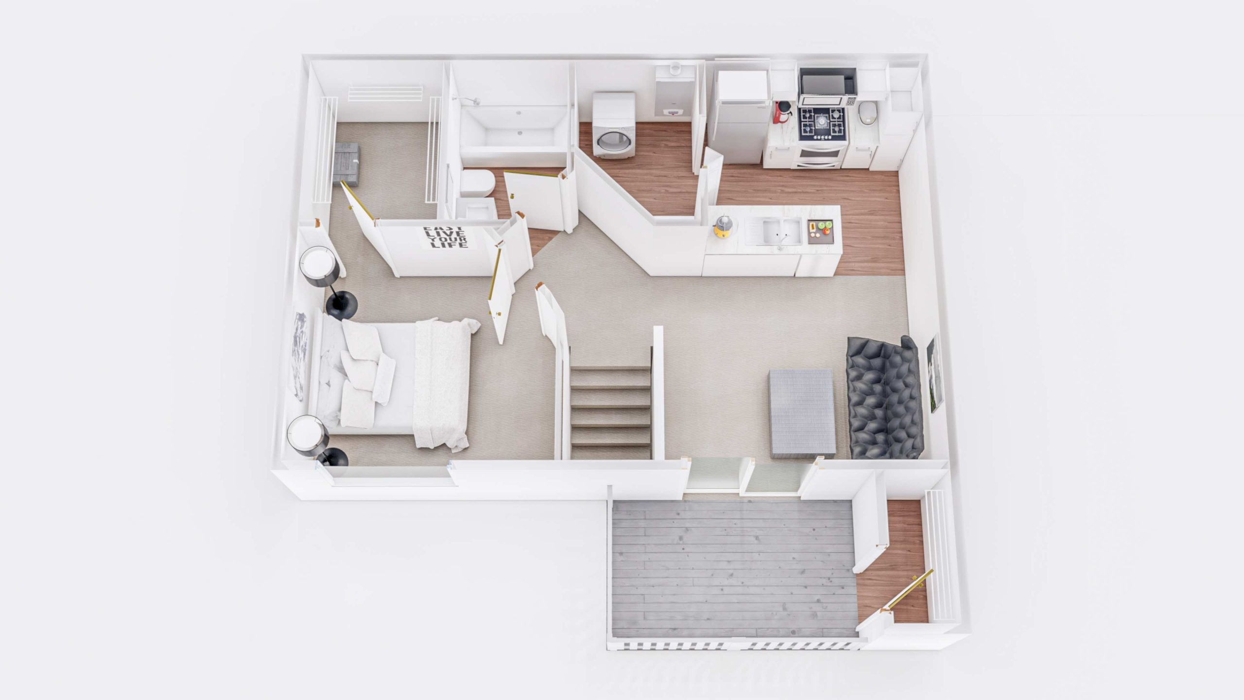 Maple 2 3D Floorplan
