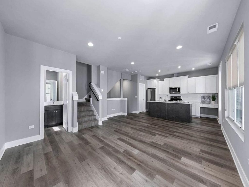 Inside of HighPoint Town Square Townhome Apartment