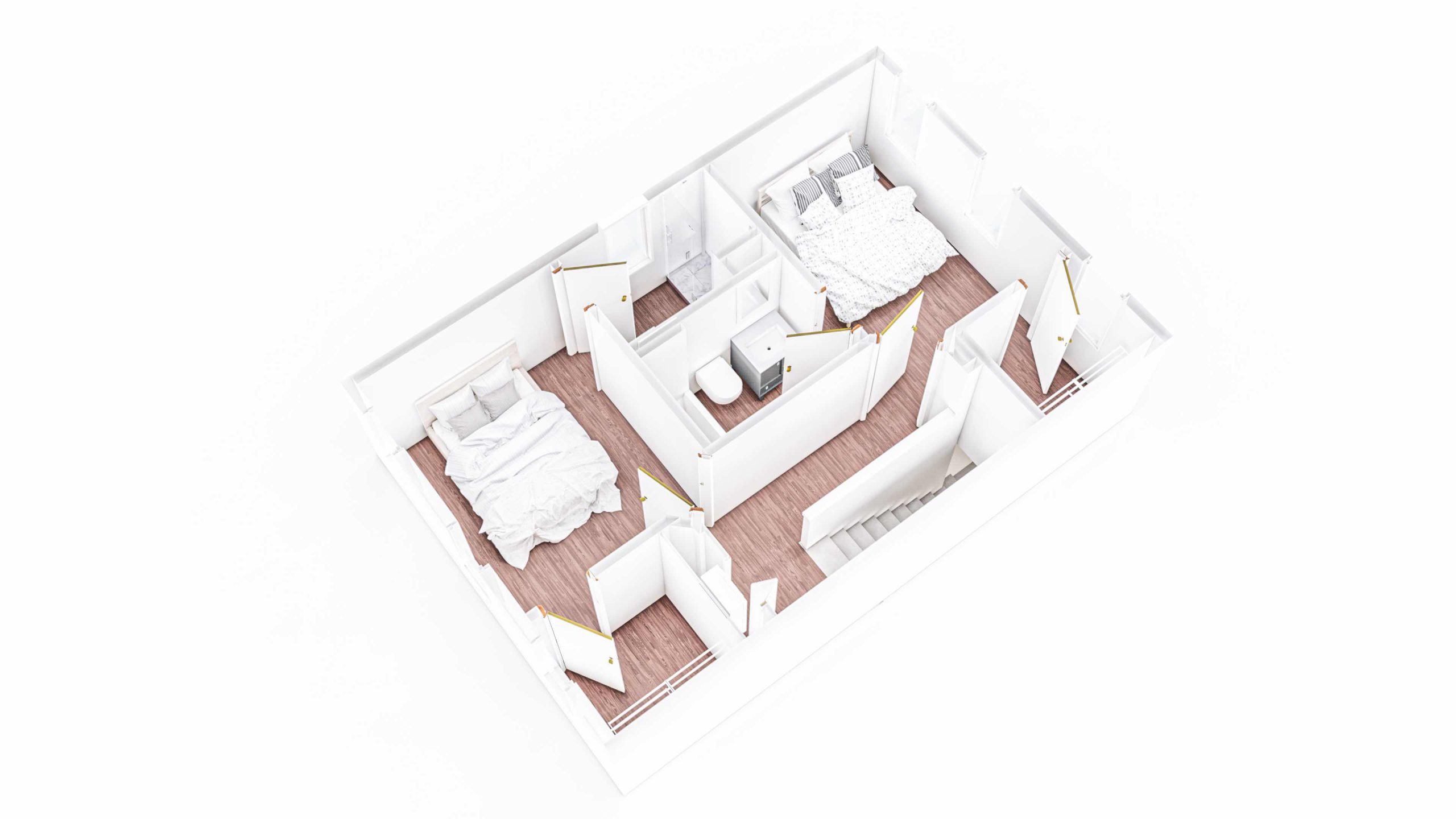 Denali 2nd Floor 3D Floor Plan
