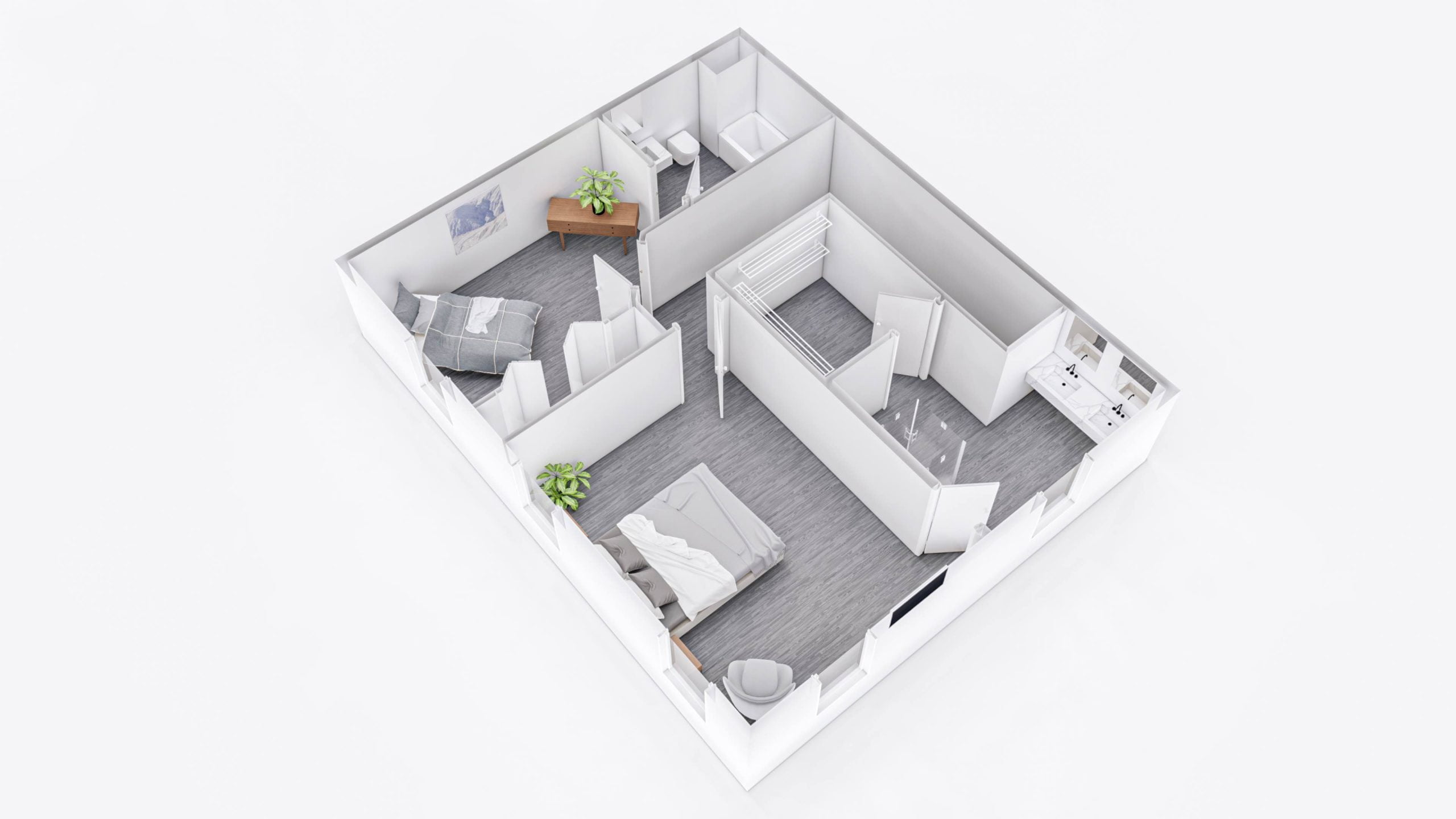 Everglade 2nd Floor 3D Floor Plan