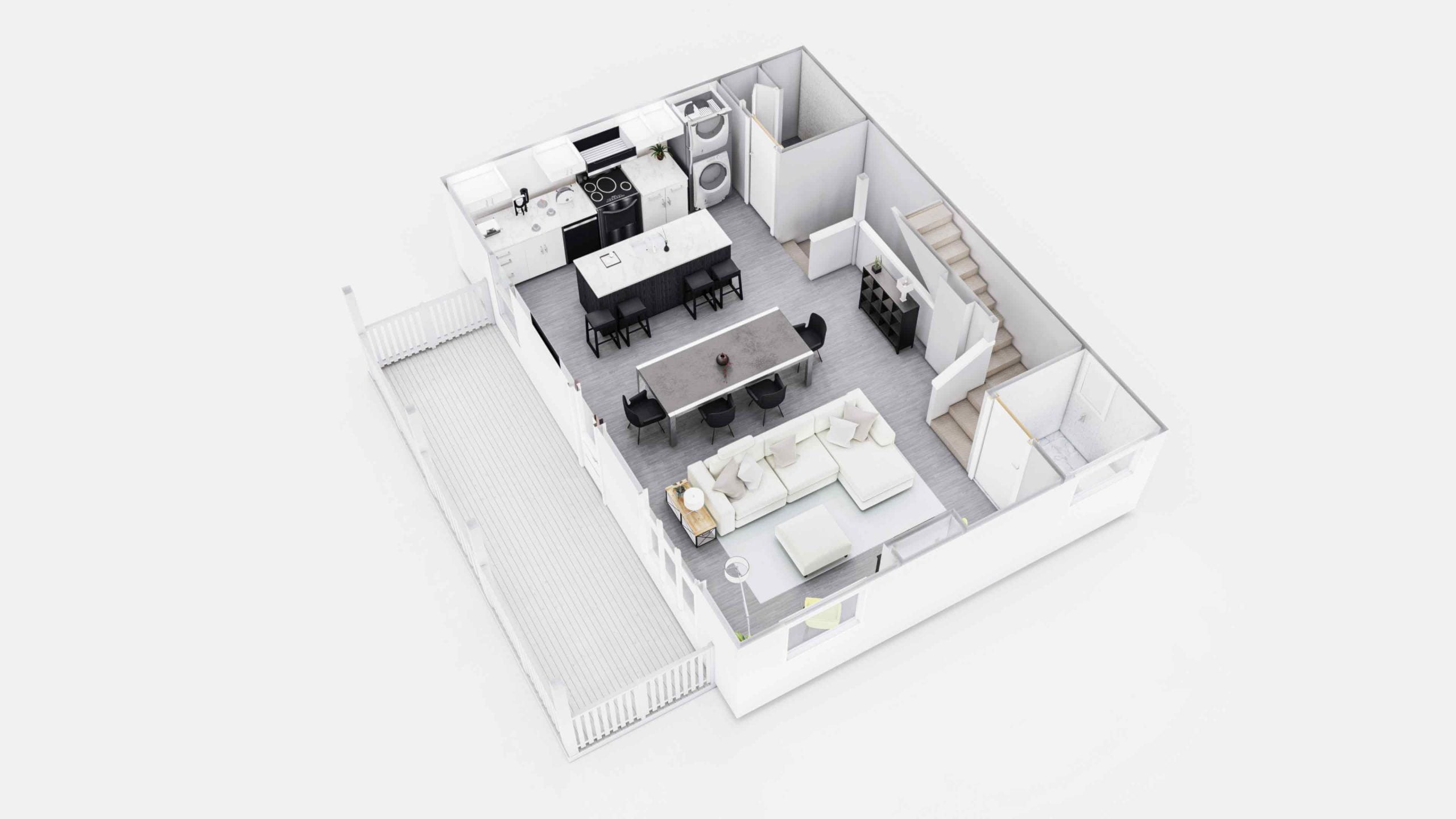 Everglade 3D Floor Plan
