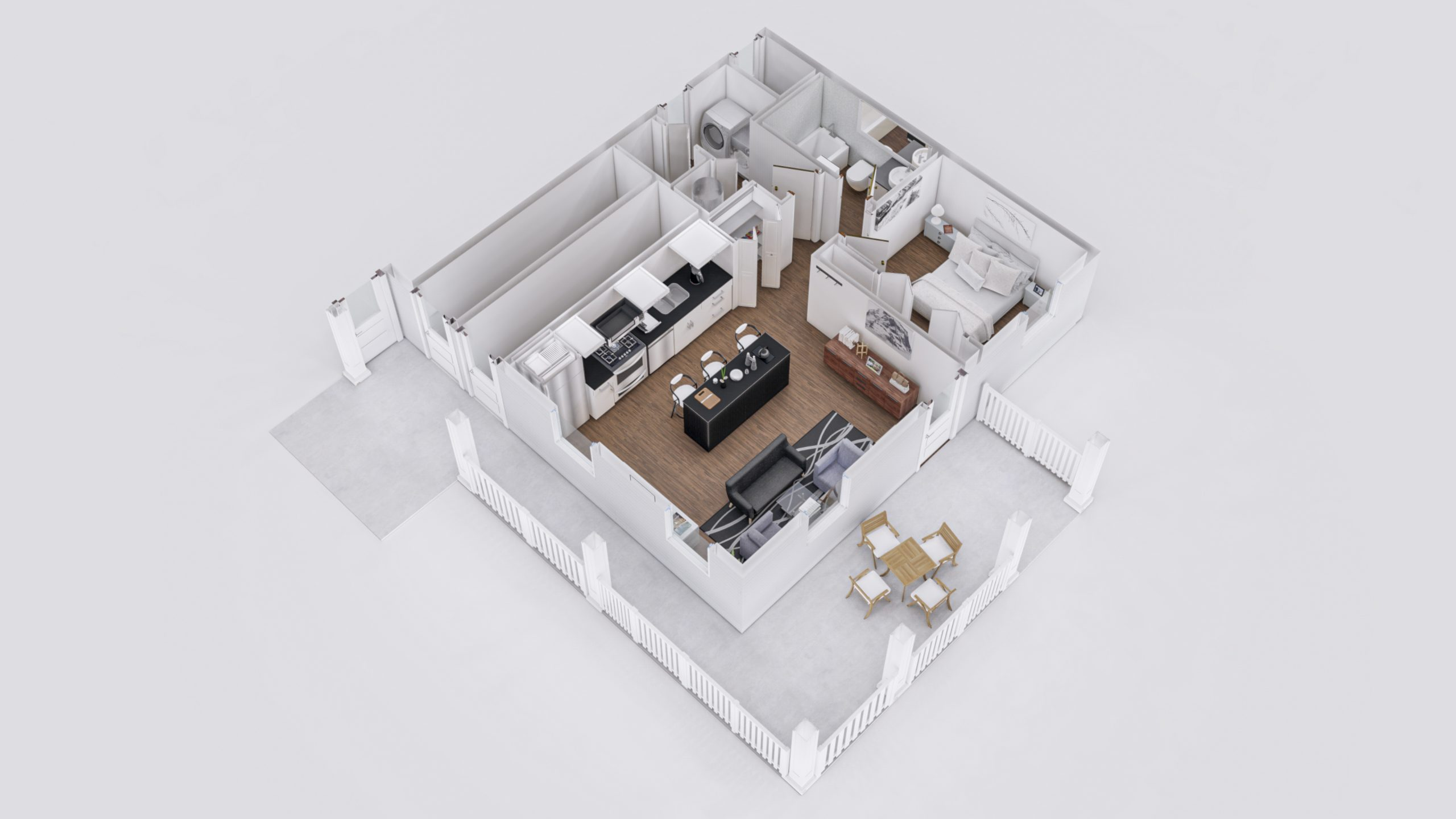 Zion 2 3D Floor Plan