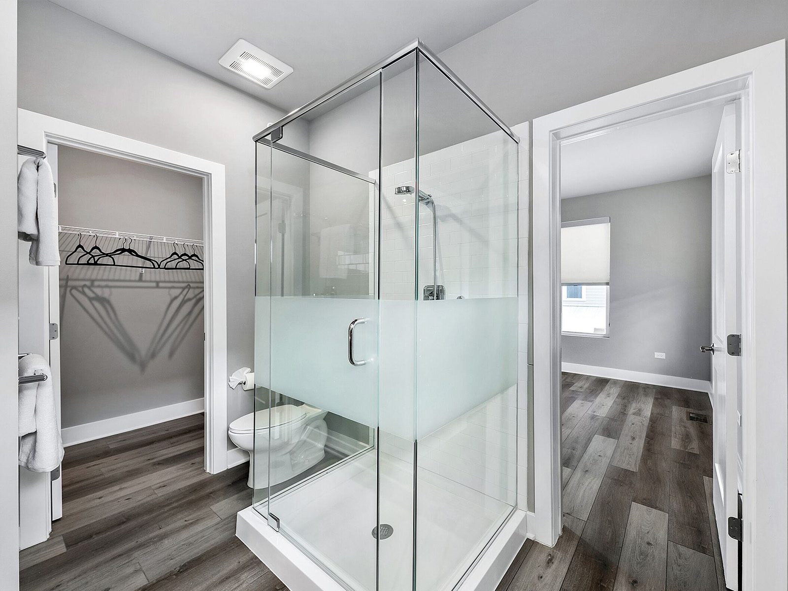 Town Square Bathroom Showing Walk in Shower